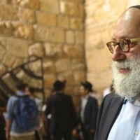 Rabbi Simon Jacobson at Kotel