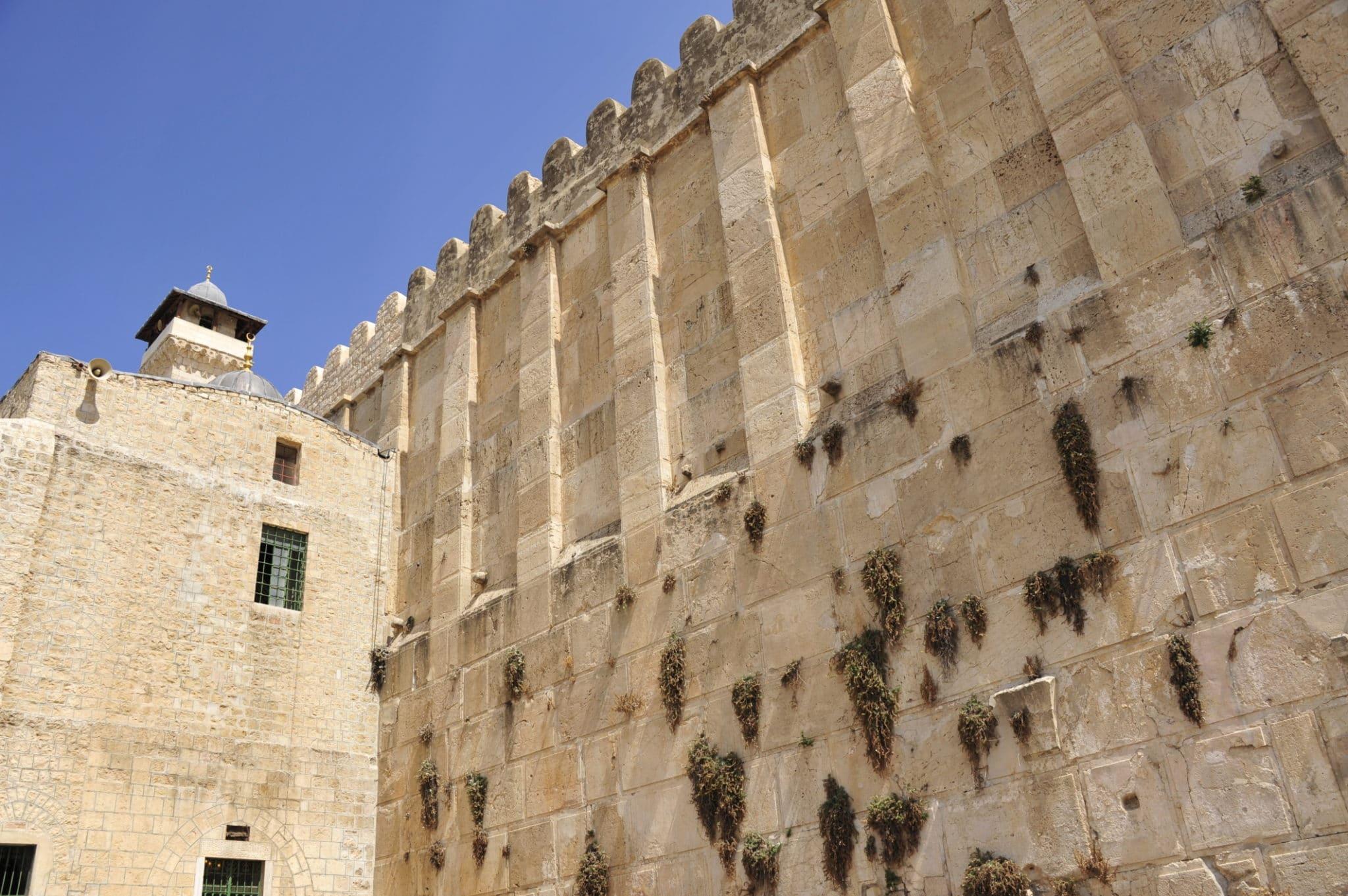 Hebron tomb of the patriarchs