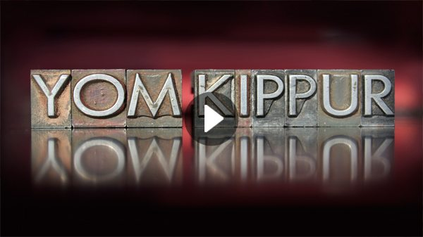 Yom Kippur is the day of forgiveness