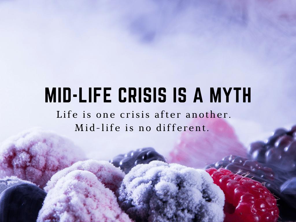 mid-life crisis is a myth