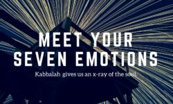 kabbalah seven emotions