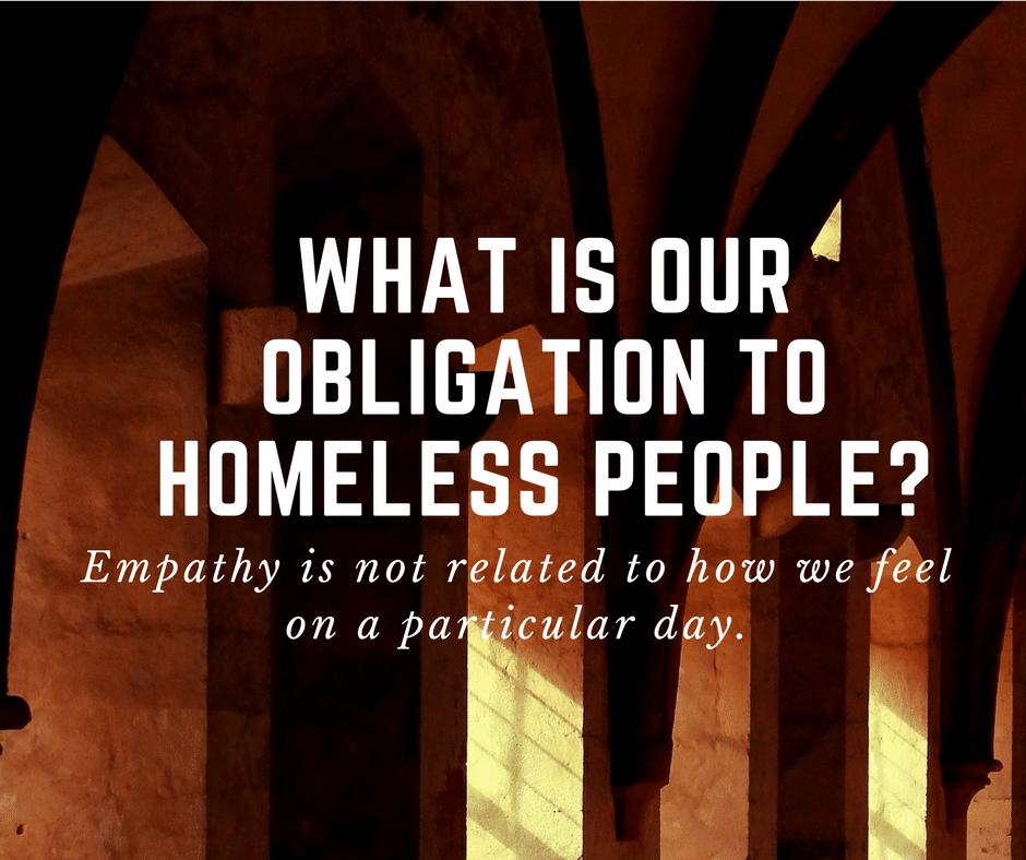 homeless people empathy